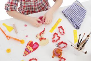 Incontournable la pâte à sel -  Cadeau idéal pour la fête des mères !